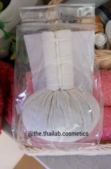 Тайский Мешочек Травяной для деликатного массажа лица и области декольте