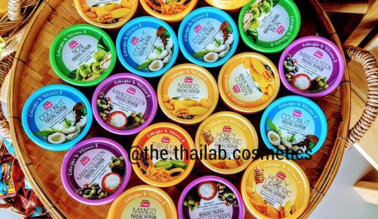 Тайский Скраб для Лица с экстрактами тропических фруктов и растений (в ассортименте) 100мл Banna