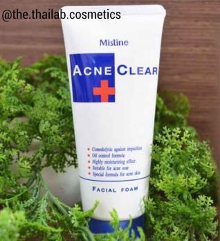 Тайская Пенка для Умывания для лица для проблемной кожи от Акне 85г Mistine