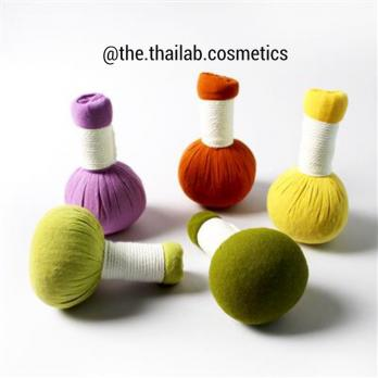 Тайский Массажный Мяч Травяной 85г Thai Herbal Massage Ball Phutawan