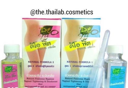 Тайский Вагинальный женский Дезодорант с сужающим эффектом Deo Fit 25мл
