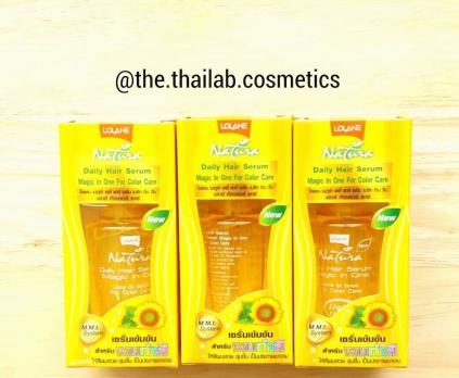Тайская Сыворотка специально для Окрашенных Волос Концентрированная 50мл Lolane