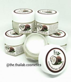 Тайский Крем-Бальзам для Ног с Кокосом от трещин на пятках 20г Coconut foot cream Bio Way