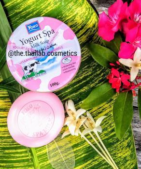 Тайское Мыло для лица и тела «Молочный йогурт» от Yoko 100г