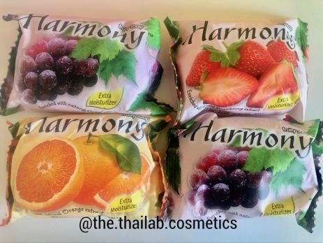 Тайское Мыло Фруктовое Увлажняющее 80 г Harmony