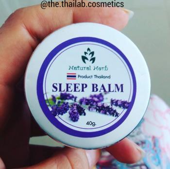 Тайский Бальзам с Лавандой для глубокого спокойного Сна 40г Sleep Balm
