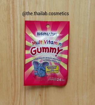 Тайские Витамины для детей - жевательный мармелад Мультивитамины 24г Biofarm
