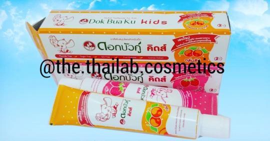 Тайская детская зубная паста 35г  Twin Lotus Kids
