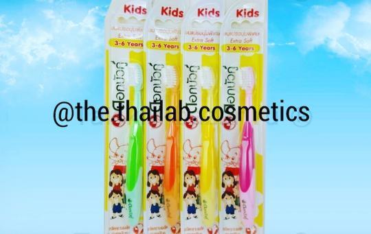 Тайская детская зубная щетка для деток от 3 до 6 лет Twin Lotus Kids
