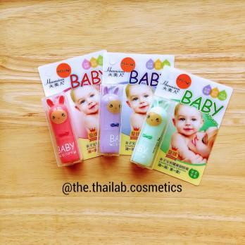 Тайский Детская Гигиеническая Натуральная Помада для Губ Belov Huomeiren Baby Lip Care