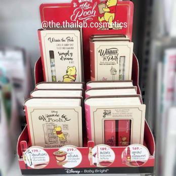 Корейский Карандаш + Блеск для Губ 0.5 г +2.5 г Baby Bright Disney Winnie the Pooh