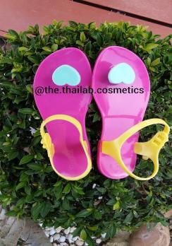 Тайские Босоножки ZHOELALA  Розового цвета с Сердечком 40 размер