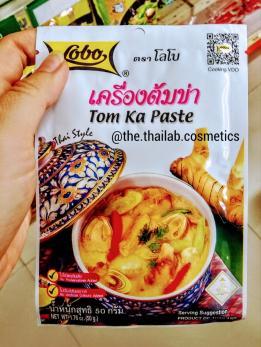 Тайская Паста для супа TOM KA 50г Lobo