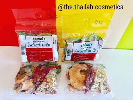 """Тайский Набор для приготовления супа """"Том Ям"""" сушеный 40г Tom Yam Set"""