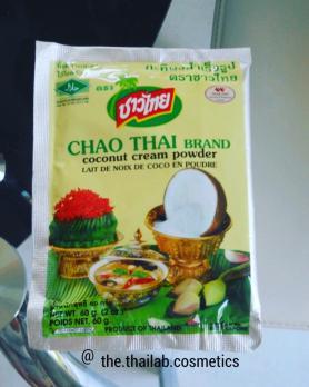 Тайское кокосовое молоко Сухое 60 г Chao Thai Brand