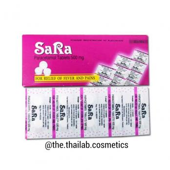 Тайский парацетамол 500 мг 10 таблеток Sara