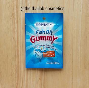 Тайские Витамины для детей - жевательный мармелад Рыбий Жир 24г Biofarm