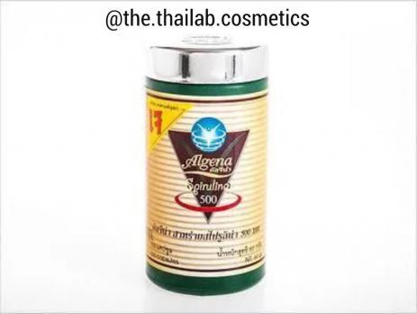Тайская Спирулина 500 mg 100 капсул 60г Algena FACY
