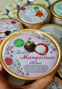 Тайское Органическое Масло-Баттер Для Тела с Мангостином 250г Praileela