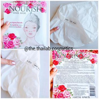 Тайская Маска-Шапочка для Волос мгновенного действия Nourish Hair Mask Mistine