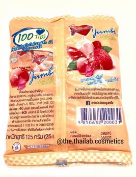 Тайские Конфеты с фруктовыми вкусами Личи / Клубника 125г Jumbo