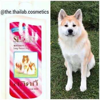 Тайский Увлажняющий Шампунь Кондиционер для Собак с Длинной Шерстью 350 мл Sleeky