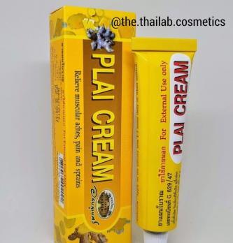 Тайский Крем Плай для быстрого рассасывания синяков, для лечения ушибов и гематом 25 г Abhaibhubejhr