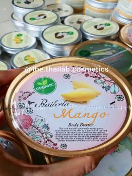 Тайское Органическое Масло-Баттер Для Тела с Манго 250г Praileela