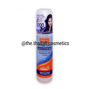 Тайская Сыворотка - несмываемый уход для всех типов волос на основе гиалуроновой кислоты 100 мл LOLANE Intense Care Leave-in Hyaluronic Serum